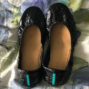 Tieks by Gavrieli 9 Ballet Flats Obsidian Black